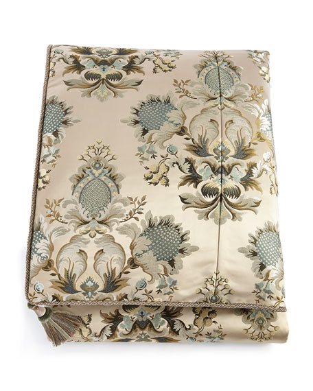 Austin Horn Classics King Rochelle Floral Duvet Cover