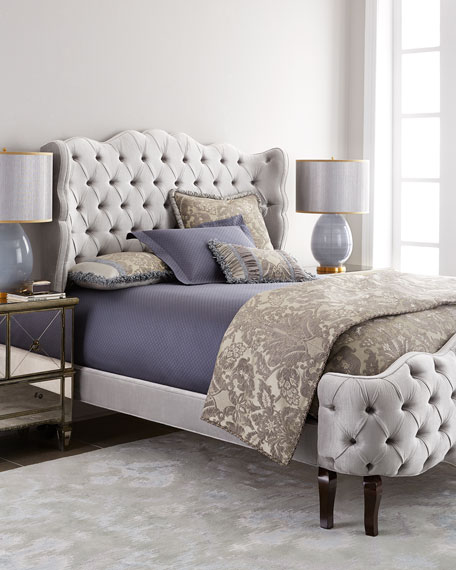 Haute House Pantages Tufted Beds & Matching Items | Neiman Marcus