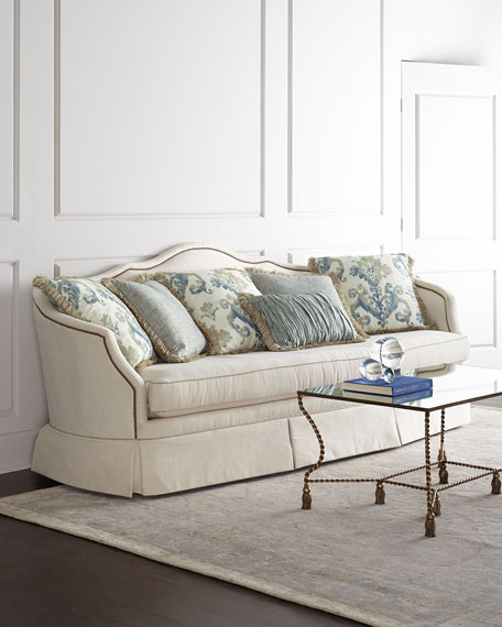 Massoud China Spring Sofa