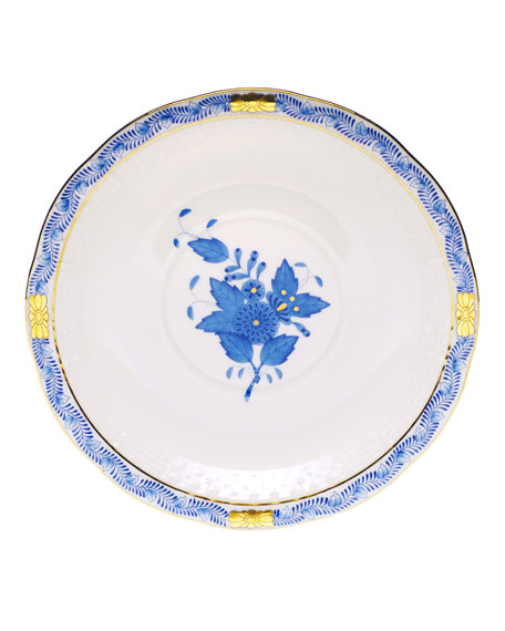 Blue Chinese Bouquet Saucer