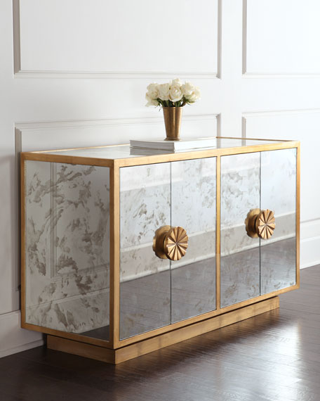 Erin Mirrored Sideboard