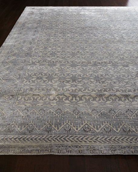 Exquisite Rugs Star Antique Weave Rug, 9' x