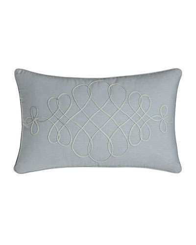 "Adina Soutache Pillow, 12"" x 20"""