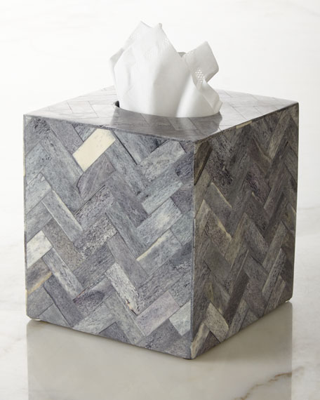 Kassatex Osso Tissue Box Cover
