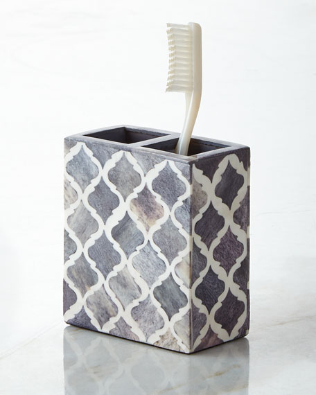 Kassatex Marrakesh Toothbrush Holder