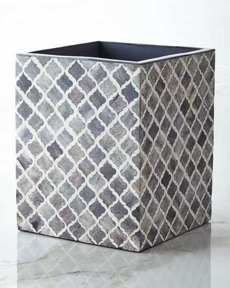 Kassatex Marrakesh Wastebasket