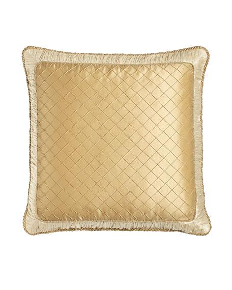 Austin Horn Classics Diamond-Stitch European Sham