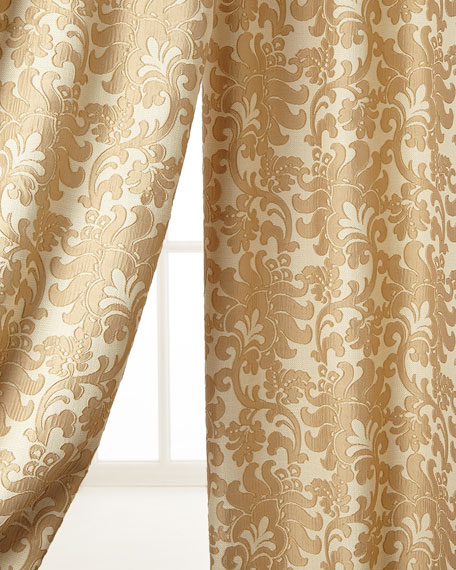 "Two 52""W x 96""L Florence Curtains"