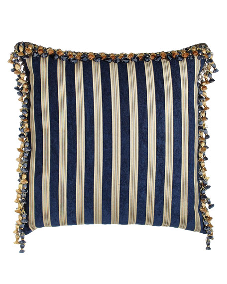 Reversible European Sham with Onion Trim
