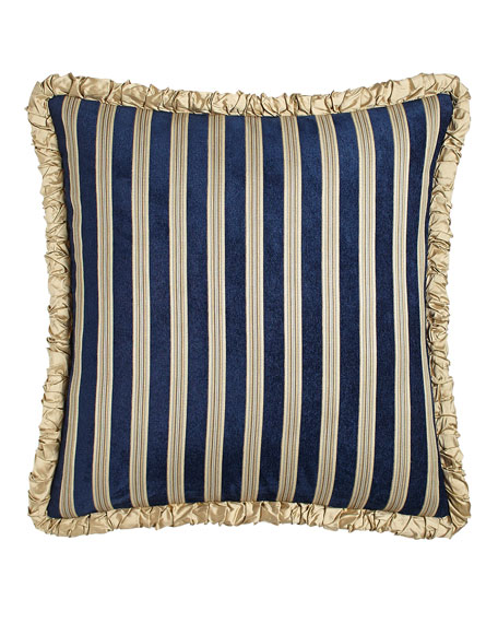 Reversible European Sham with Ruched Welt