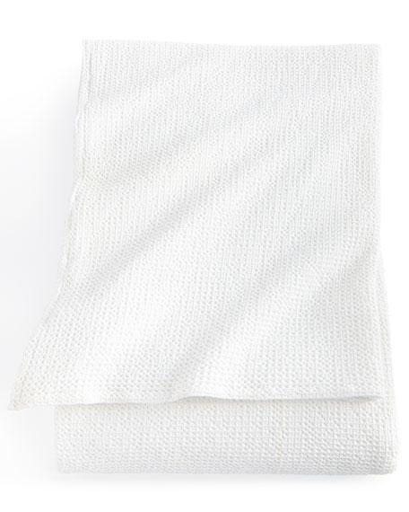 Cecily King Waffle Matelasse Coverlet
