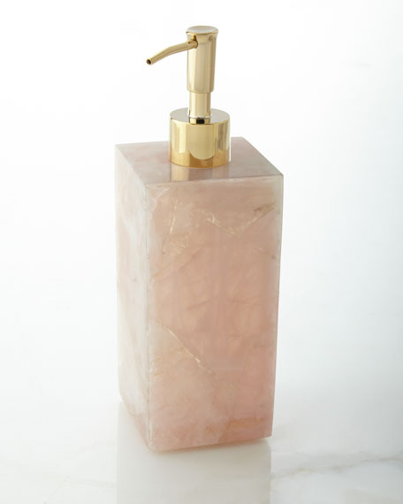 Rose Quartz Pump Dispenser