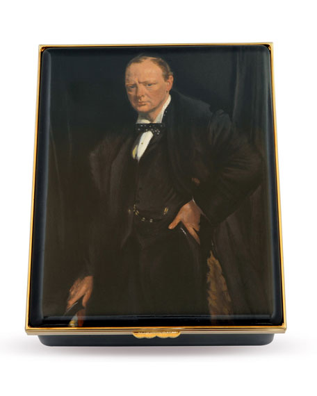 Halcyon Days Winston Churchill Limited Edition Box