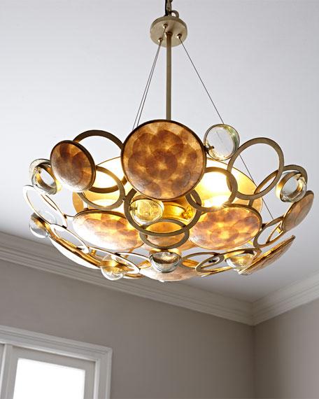 Glass Bubble 3-Light Pendant