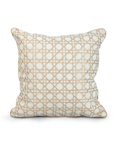 "Trellis 20""Sq. Pillow"