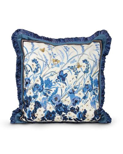 "Poppy 20""Sq. Pillow"