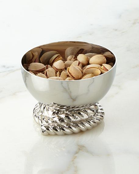 Michael Aram Rope Nut Dish