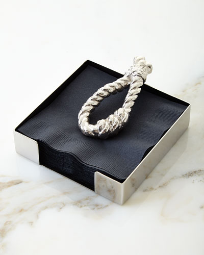 Rope Cocktail Napkin Holder