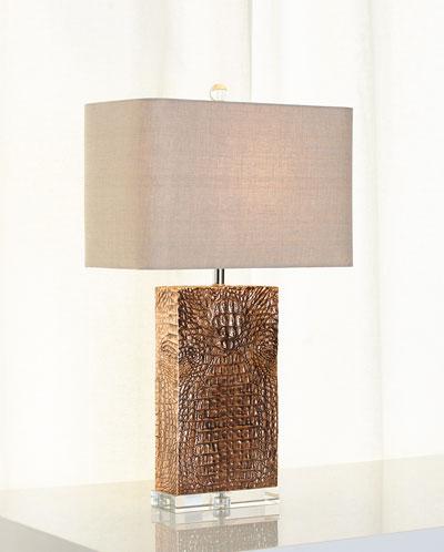 Croc-Column Lamp