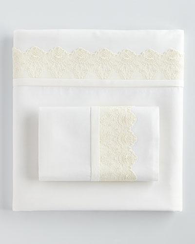 Fino Lino Linen & Lace Queen 420TC Carlyle