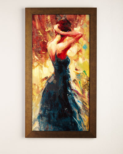 """""""Lady in Black"""" Giclee"""