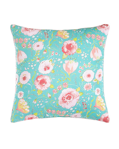 "Kiera Loop Stitches Reversible Square Pillow, 16""Sq."