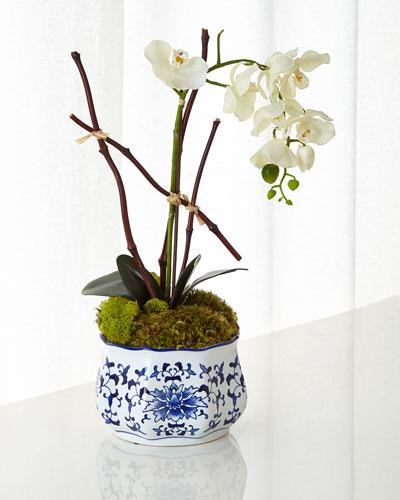 Dancing Orchid Faux Floral