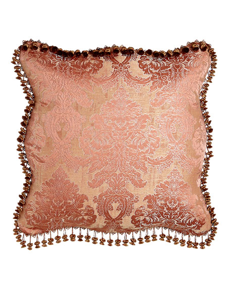 Rue de L'amour European Scalloped Damask Sham