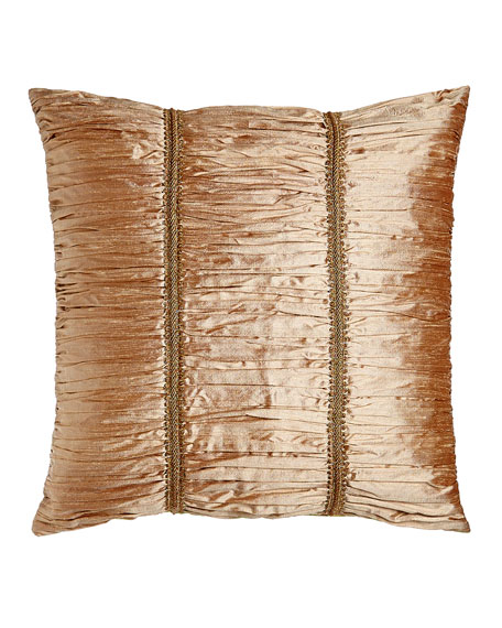Rue de L'amour European Ruched Silk Sham