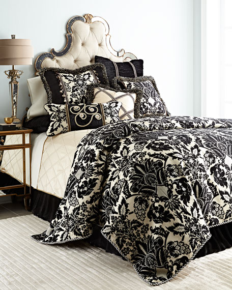 Sweet Dreams Verona King Pieced Sham with Fringe