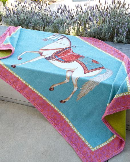 John Robshaw Horse Beach Towel