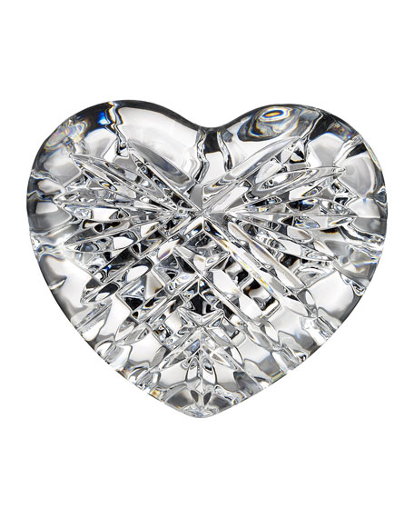 Waterford Crystal Celtic Heart Paperweight