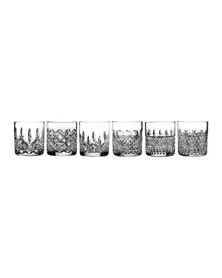 Waterford Heritage Assorted Tumblers, 6-Piece Set