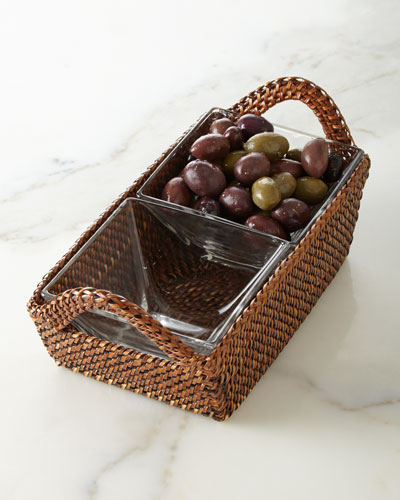 Rectangular Divided Tray