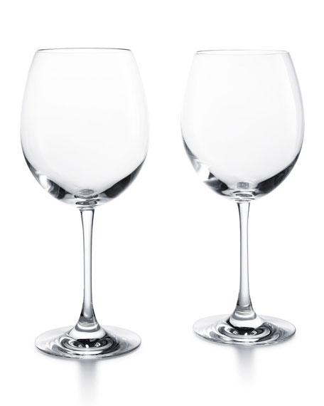 Baccarat grand bordeaux glasses set of 2 - Baccarat stemware ...