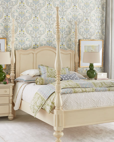 ANNETTE KING POSTER BED