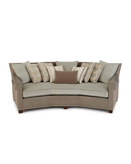 Glimmer Leather Sofa