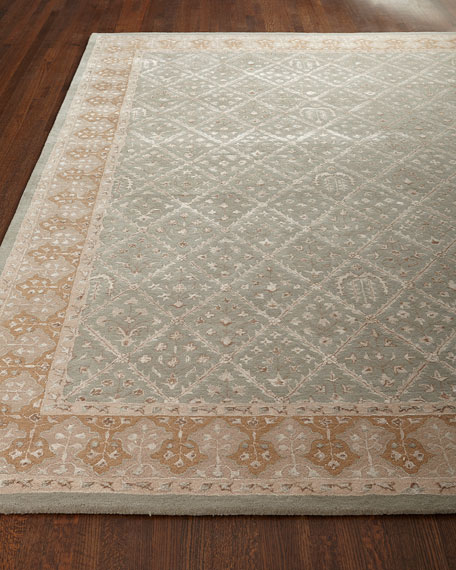 "Diamond Field Rug, 9'6"" x 13'"