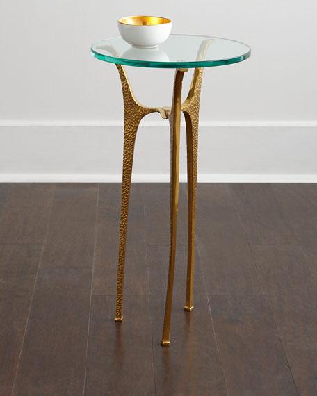 INTERLUDE Ziggy Side Table