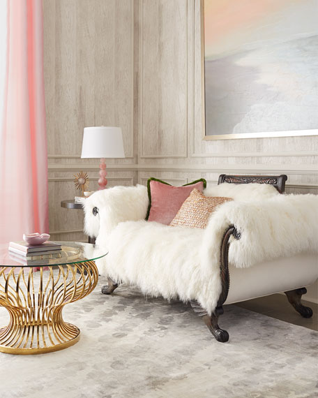 Sherwood Sheepskin Settee