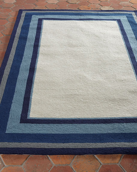 Mazarine Indoor/Outdoor Runner, 2' x 8'