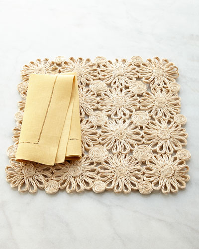 Patchwork Daisy Placemat