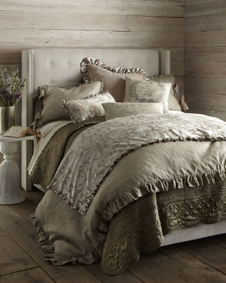 French Laundry Home Aimee King Linen Duvet Cover 108 Quot X 98 Quot
