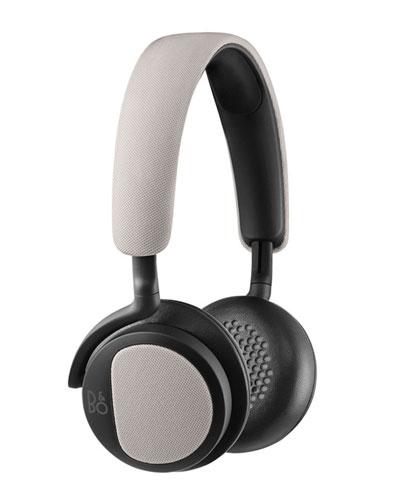 H2 Light Gray Over-Ear Headphones