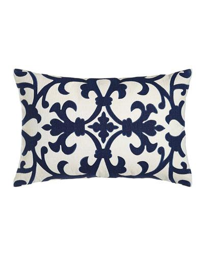 Ocean Reef Grille Pillow