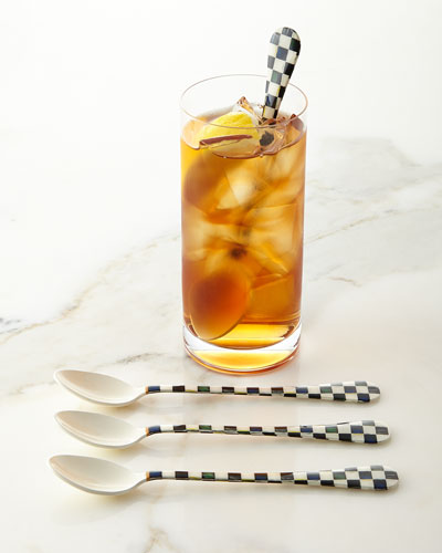 Courtly Check Iced Tea Spoons, Set of 4