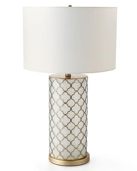 Neimanmarcus Nina Quatrefoil Table Lamp