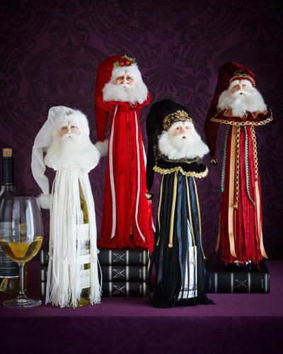 Santa Wine Tassel