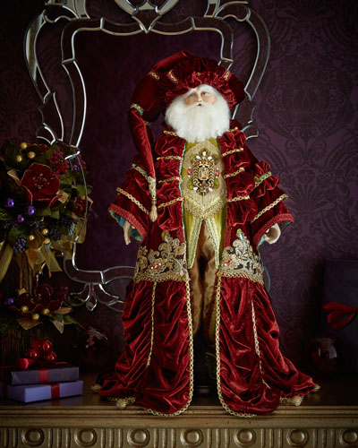 "Nativity Santa 32"" Doll"