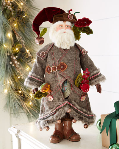 "Finley Forester 24"" Santa Doll"